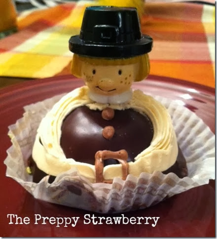Preppy Strawberry Pilgrim Cake