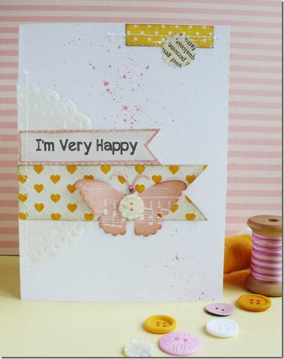 cafecreativo - card butterfly - Big Shot Sizzix