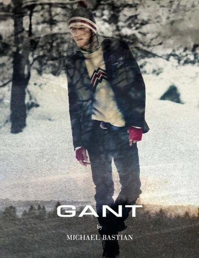 Dennis Klaffert by Ewa-Marie Rundquist for the Gant by Michael Bastian F/W 2011.