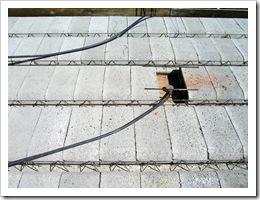 Roof over bedroom & bath 010-1