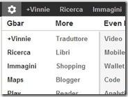 Personalizzare la barra nera di Google aggiungendo o rimuovendo link su Chrome e Firefox