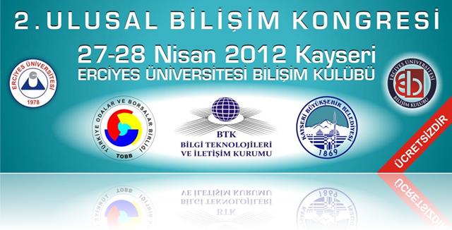 2. Ulusal Bilişim Kongresi