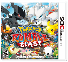 Pokémon Rumble Blast Capa