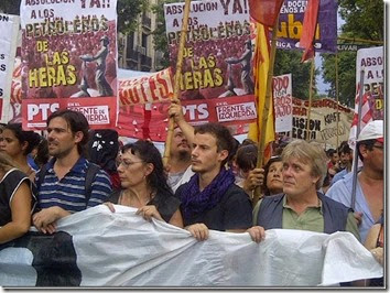Marcha Las Heras - Plaza de Mayo 2