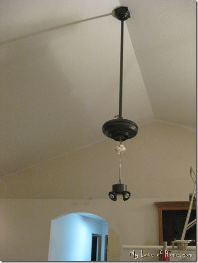 painting ceiling fan
