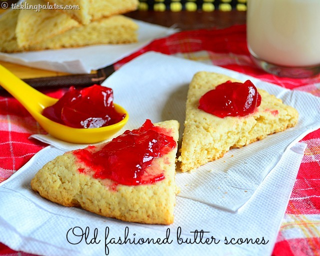 buttery scones