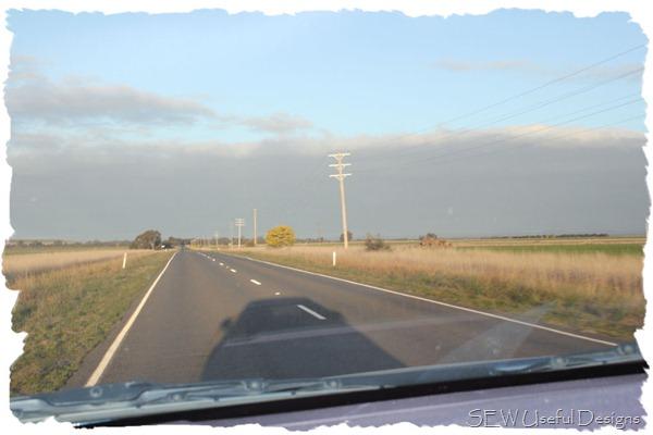 Castlemaine travel in car