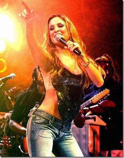 Galeria de Fotos da Cláudia Leite Rock in Rio