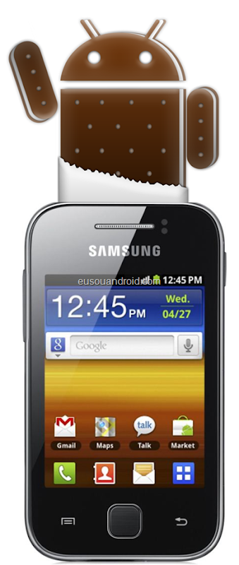 Galaxy Y Gingerbread 2.3.