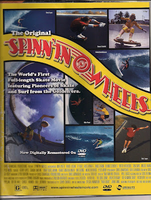 Spinning Wheels! The first full length skateboard movie with Bruce, Brad and Ty Page along with a few other skaters in the movie!