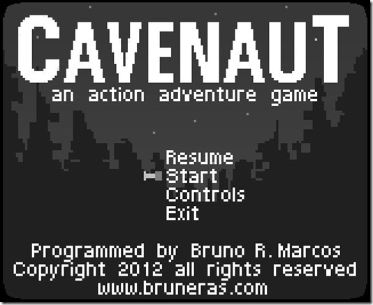 Cavenaut and action adventure game image 1
