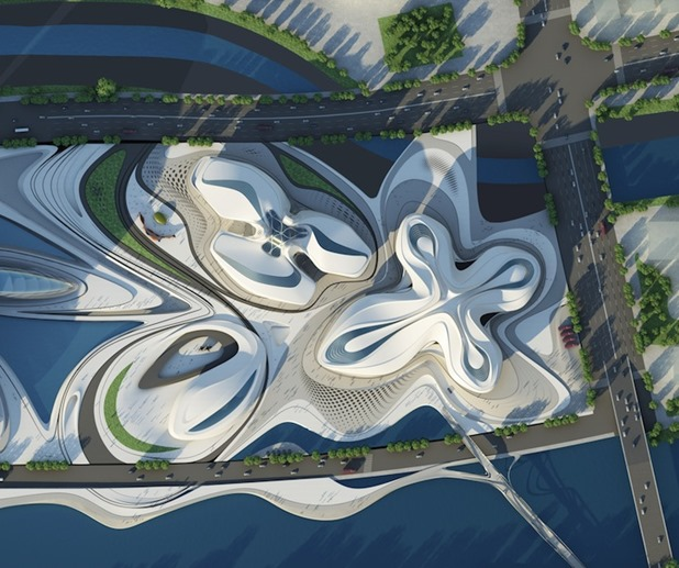 changsha meixihu international culture & art centre by zaha hadid architects 4