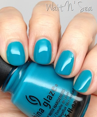 China Glaze Wait N' Sea nail polish