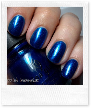 China Glaze Blue Year's Eve 7