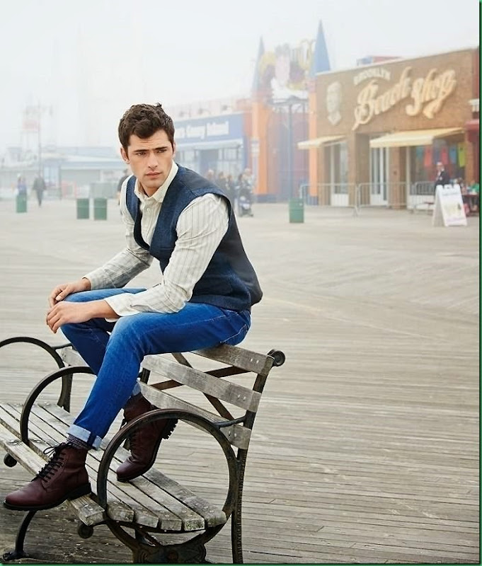 More Images of Sean O'Pry for Next Fall/Winter 2014-15