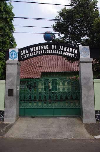 The elementary school Barack Obama attended in Menteng, Jakarta.