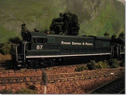 IMG_9394 OCP U33B #67 on my Dad's Layout on November 22, 2007