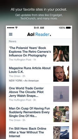 AOL Reader ios