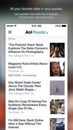 AOL Reader ios