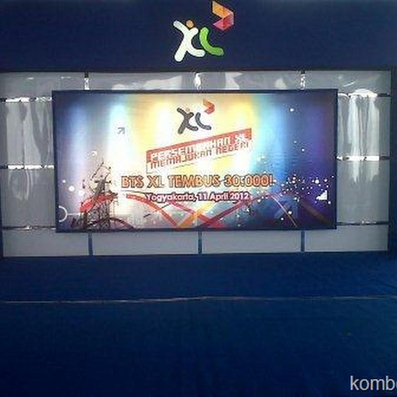Foto-Foto Peresmian BTS XL Tembus 30.000!