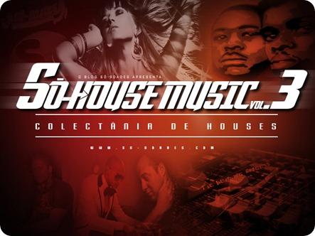 Só-9dades - Só-House Music Vol.III (Afro Houses)_Capa