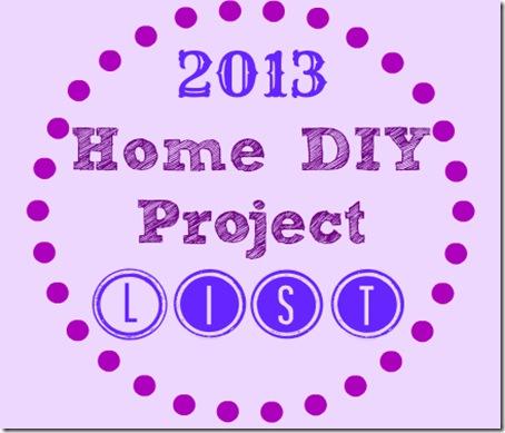 DIY project list