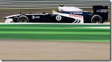 Maldonado nelle prove libere del gran premio d'India 2011