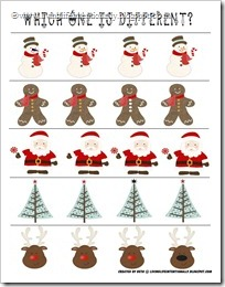 Christmas Pack - Which One is Different?