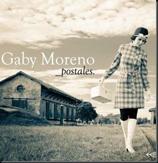 gaby moreno postales, album postales gaby moreno, disco postales gaby moreno