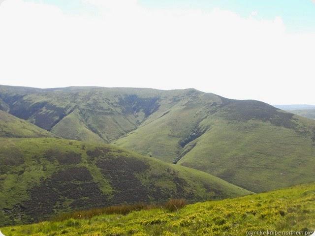 wetherhorn hill from ewe hill