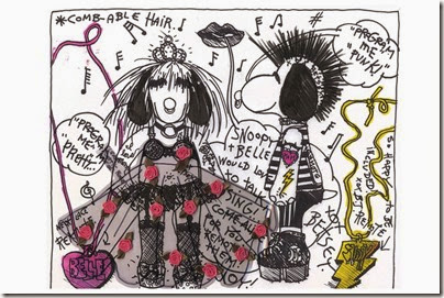 Peanuts X Metlife - Snoopy and Belle in Fashion by Betsey Johnson