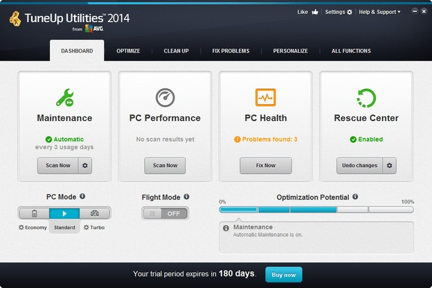 tune-up utilities 2014 windows