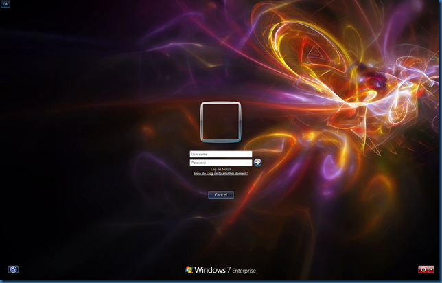 how to change windows 8 login screen background