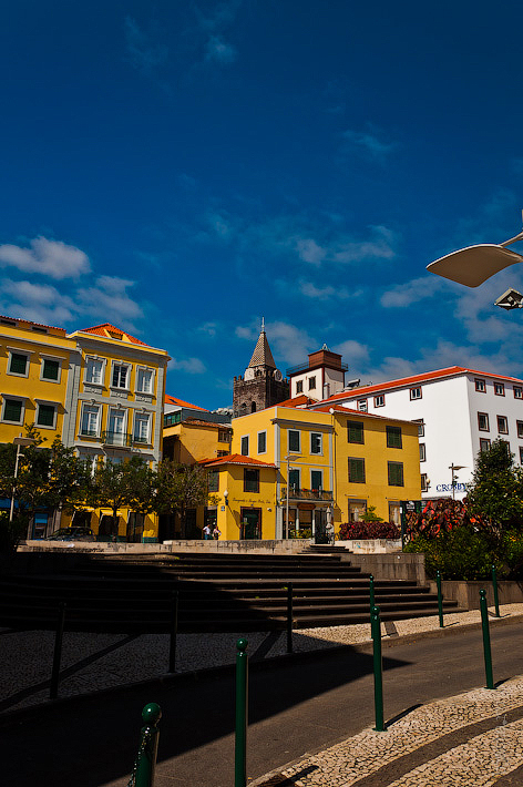 8. Фотопрогулка по улицам города. Улочки. Фуншал. Мадейра. Португалия. Круиз на Costa Concordia.