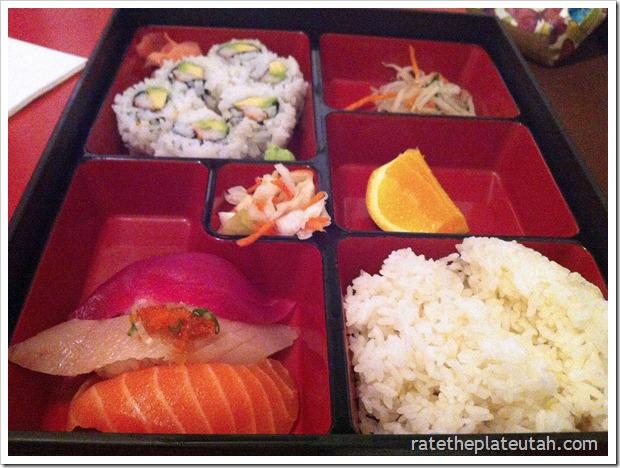 Meiko Sushi Nigiri California Roll Dinner