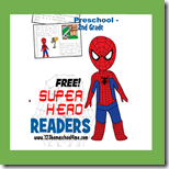 1st Grade Super Hero Reader