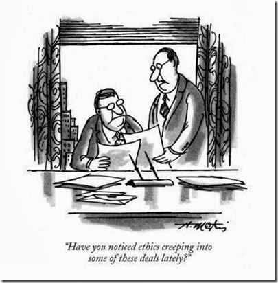 profilehenry-martin-have-you-noticed-ethics-creeping-into-some-of-these-deals-lately-new-yorker-cartoon