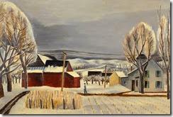 Ernest-Fiene-1894-1965-Lasher-Farm-in-Winter-Woodstock