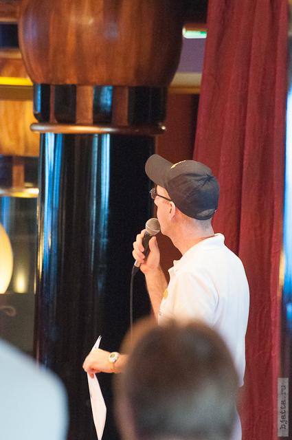 17. Круиз на Costa Concordia. День 7-й. Морской день, из Фуншала в Малагу, через гибралтар. Конкурс аниматоров в разгаре.