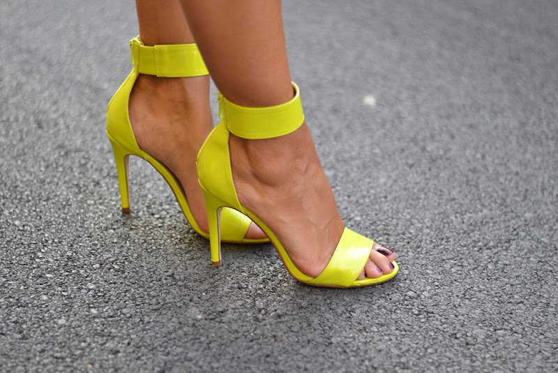 High Heels, Fluo Sandals, H&M Shoes, H&M Sandals, High Heels Sandals