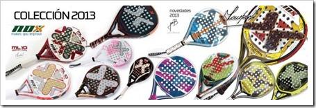 NOX saca al mercado su Colección de Palas 2013 con siete nuevos modelos.