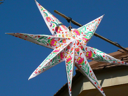 Sights of Kerala: Christmas star
