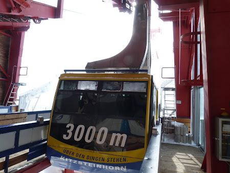 Vacanta Kaprun - Zell am See: telecabina spre 3000 metri