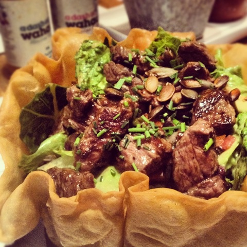 #295 - Wahaca's steak Sonara salad