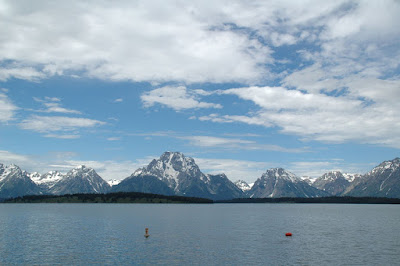 Jackson LakeからのGrand Teton