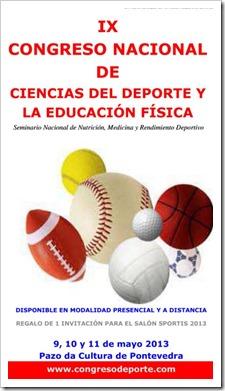 I Salón Nacional del Deporte, la Salud y la Nutrición. Sportis 2013 IX Congreso Nacional de Ciencias del Deporte y la Educación Física.