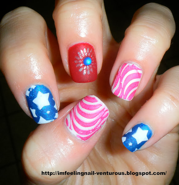 DSCN1686 Nail Designs For July 4th