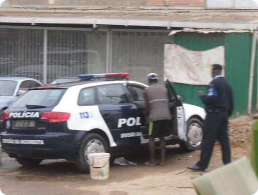 Bom exemplo da nossa policia