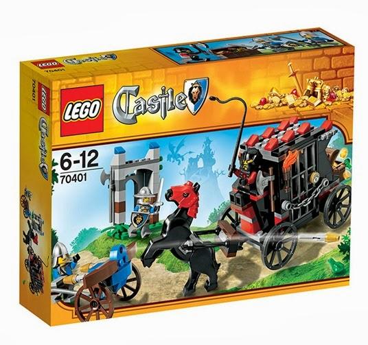 Lego castles gold getaway
