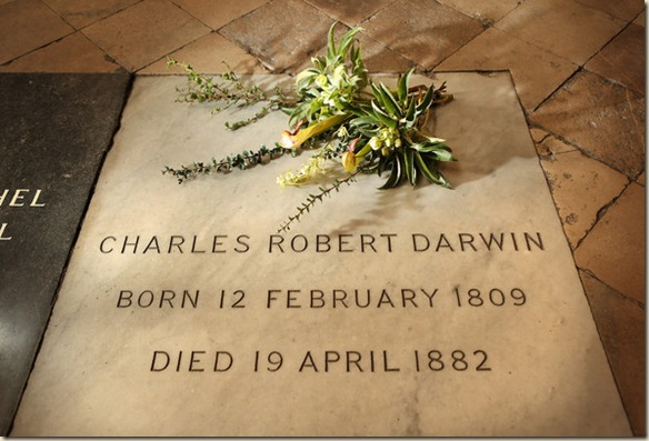 Darwin tumba ateismo cristianismo
